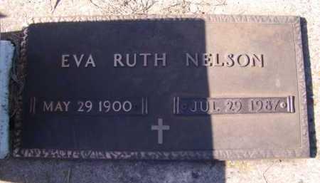 NELSON, EVA RUTH - Moody County, South Dakota | EVA RUTH NELSON - South Dakota Gravestone Photos