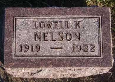 NELSON, LOWELL N - Moody County, South Dakota | LOWELL N NELSON - South Dakota Gravestone Photos