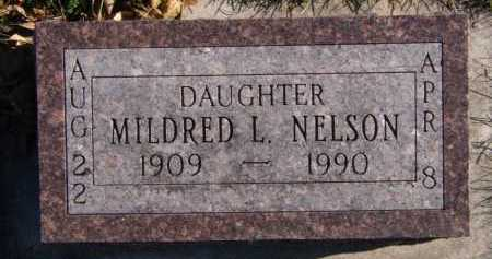 NELSON, MILDRED L - Moody County, South Dakota | MILDRED L NELSON - South Dakota Gravestone Photos