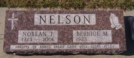 NELSON, NORLAN T - Moody County, South Dakota | NORLAN T NELSON - South Dakota Gravestone Photos