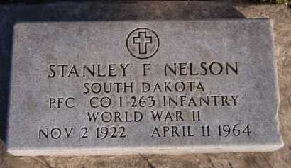 NELSON, STANLEY F - Moody County, South Dakota | STANLEY F NELSON - South Dakota Gravestone Photos