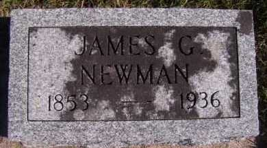 NEWMAN, JAMES G - Moody County, South Dakota | JAMES G NEWMAN - South Dakota Gravestone Photos