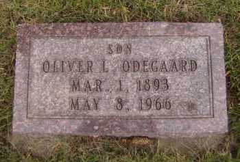 ODEGAARD, OLIVER L - Moody County, South Dakota | OLIVER L ODEGAARD - South Dakota Gravestone Photos