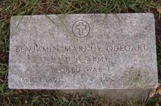 ODEGARD, BENJAMIN MARKUS - Moody County, South Dakota | BENJAMIN MARKUS ODEGARD - South Dakota Gravestone Photos