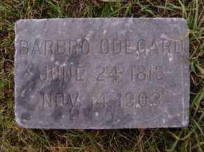 ODEGARD (OR ODEGAARD), BARBRO - Moody County, South Dakota | BARBRO ODEGARD (OR ODEGAARD) - South Dakota Gravestone Photos