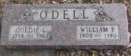 ODELL, WILLIAM P. - Moody County, South Dakota | WILLIAM P. ODELL - South Dakota Gravestone Photos