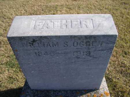 OGDEN, WILLIAM S (CLOSEUP) - Moody County, South Dakota | WILLIAM S (CLOSEUP) OGDEN - South Dakota Gravestone Photos