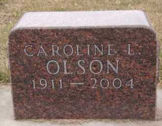 OLSON, CAROLINE L - Moody County, South Dakota | CAROLINE L OLSON - South Dakota Gravestone Photos