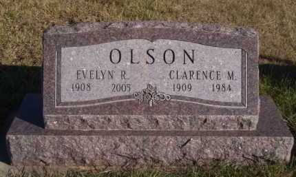 OLSON, EVELYN R - Moody County, South Dakota | EVELYN R OLSON - South Dakota Gravestone Photos