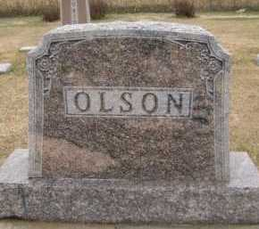 OLSON, FAMILY - Moody County, South Dakota | FAMILY OLSON - South Dakota Gravestone Photos