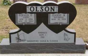 BACHMAN OLSON, JOANNE M - Moody County, South Dakota | JOANNE M BACHMAN OLSON - South Dakota Gravestone Photos