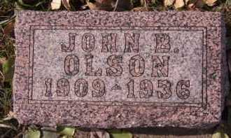 OLSON, JOHN B - Moody County, South Dakota | JOHN B OLSON - South Dakota Gravestone Photos