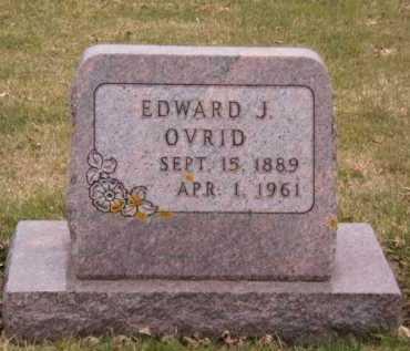 OVRID, EDWARD J - Moody County, South Dakota | EDWARD J OVRID - South Dakota Gravestone Photos