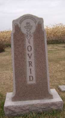OVRID, FAMILY - Moody County, South Dakota   FAMILY OVRID - South Dakota Gravestone Photos