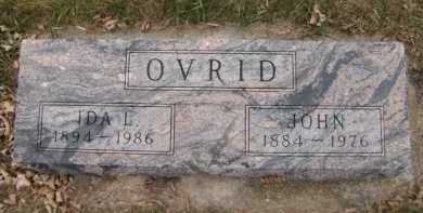 OVRID, IDA L - Moody County, South Dakota | IDA L OVRID - South Dakota Gravestone Photos