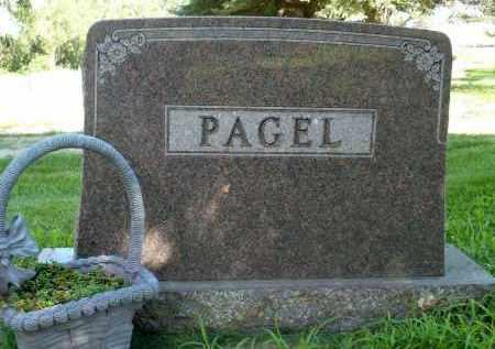 PAGEL, FAMILY MARKER - Moody County, South Dakota   FAMILY MARKER PAGEL - South Dakota Gravestone Photos