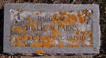EGGEBROTEN PARKS, MILLIE M - Moody County, South Dakota | MILLIE M EGGEBROTEN PARKS - South Dakota Gravestone Photos