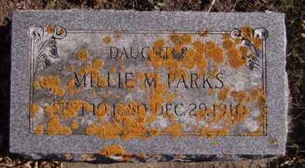 PARKS, MILLIE M - Moody County, South Dakota | MILLIE M PARKS - South Dakota Gravestone Photos