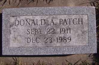 PATCH, DONALD A - Moody County, South Dakota | DONALD A PATCH - South Dakota Gravestone Photos