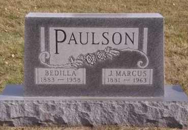 PAULSON, BEDILLA - Moody County, South Dakota | BEDILLA PAULSON - South Dakota Gravestone Photos