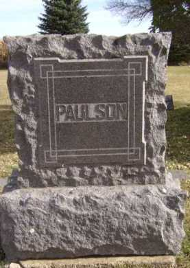 PAULSON, FAMILY - Moody County, South Dakota | FAMILY PAULSON - South Dakota Gravestone Photos