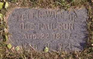 PAULSON, HELEN - Moody County, South Dakota   HELEN PAULSON - South Dakota Gravestone Photos