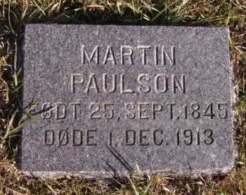 PAULSON, MARTIN - Moody County, South Dakota | MARTIN PAULSON - South Dakota Gravestone Photos