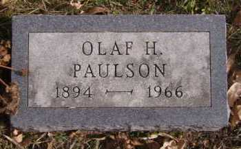PAULSON, OLAF H - Moody County, South Dakota | OLAF H PAULSON - South Dakota Gravestone Photos