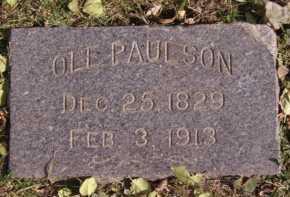 PAULSON, OLE - Moody County, South Dakota | OLE PAULSON - South Dakota Gravestone Photos