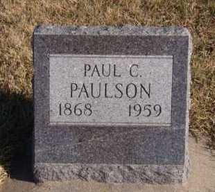 PAULSON, PAUL C - Moody County, South Dakota | PAUL C PAULSON - South Dakota Gravestone Photos