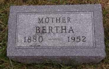 PEDERSON, BERTHA - Moody County, South Dakota | BERTHA PEDERSON - South Dakota Gravestone Photos