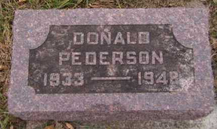 PEDERSON, DONALD - Moody County, South Dakota | DONALD PEDERSON - South Dakota Gravestone Photos