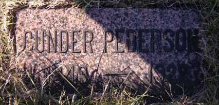 PEDERSON, GUNDER - Moody County, South Dakota | GUNDER PEDERSON - South Dakota Gravestone Photos