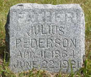 PEDERSON, JULIUS - Moody County, South Dakota | JULIUS PEDERSON - South Dakota Gravestone Photos