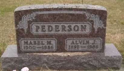 PEDERSON, ALVIN J - Moody County, South Dakota | ALVIN J PEDERSON - South Dakota Gravestone Photos