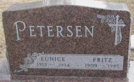 PETERSEN, EUNICE - Moody County, South Dakota   EUNICE PETERSEN - South Dakota Gravestone Photos