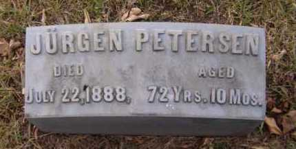 PETERSEN, JURGEN - Moody County, South Dakota | JURGEN PETERSEN - South Dakota Gravestone Photos