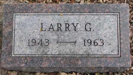 PETERSEN, LARRY G. - Moody County, South Dakota | LARRY G. PETERSEN - South Dakota Gravestone Photos