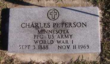 PETERSON, CHARLES (MILITARY) - Moody County, South Dakota | CHARLES (MILITARY) PETERSON - South Dakota Gravestone Photos