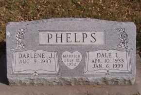 PHELPS, DARLENE J - Moody County, South Dakota | DARLENE J PHELPS - South Dakota Gravestone Photos