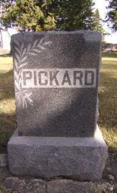 PICKARD, FAMILY - Moody County, South Dakota | FAMILY PICKARD - South Dakota Gravestone Photos