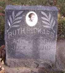 PICKARD, RUTH - Moody County, South Dakota | RUTH PICKARD - South Dakota Gravestone Photos