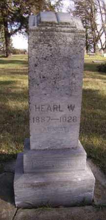 PITSENBERGER, HEARL W - Moody County, South Dakota | HEARL W PITSENBERGER - South Dakota Gravestone Photos