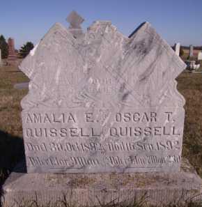 QUISSELL, OSCAR T - Moody County, South Dakota | OSCAR T QUISSELL - South Dakota Gravestone Photos