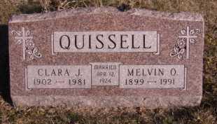 QUISSELL, CLARA J - Moody County, South Dakota | CLARA J QUISSELL - South Dakota Gravestone Photos
