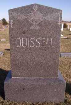 QUISSELL, FAMILY - Moody County, South Dakota   FAMILY QUISSELL - South Dakota Gravestone Photos