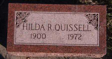 QUISSELL, HILDA R - Moody County, South Dakota | HILDA R QUISSELL - South Dakota Gravestone Photos