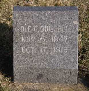 QUISSELL, OLE O - Moody County, South Dakota | OLE O QUISSELL - South Dakota Gravestone Photos