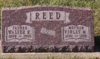 REED, VIOLET M - Moody County, South Dakota | VIOLET M REED - South Dakota Gravestone Photos