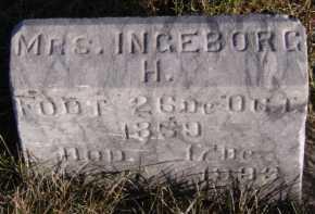 RISLOV, INGEBORG H - Moody County, South Dakota | INGEBORG H RISLOV - South Dakota Gravestone Photos